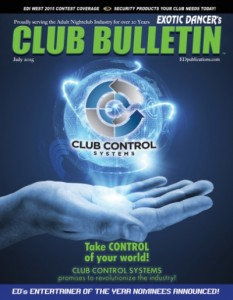 Club Bulletin Cover